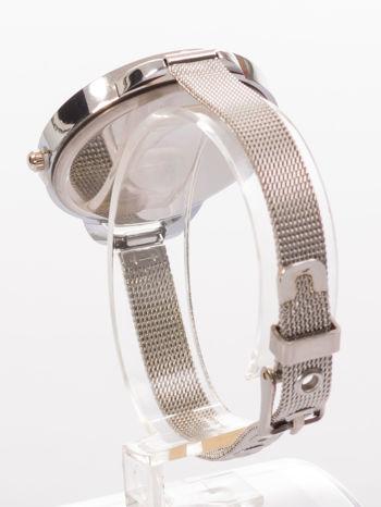 Bordowy zegarek damski na bransolecie                                  zdj.                                  4