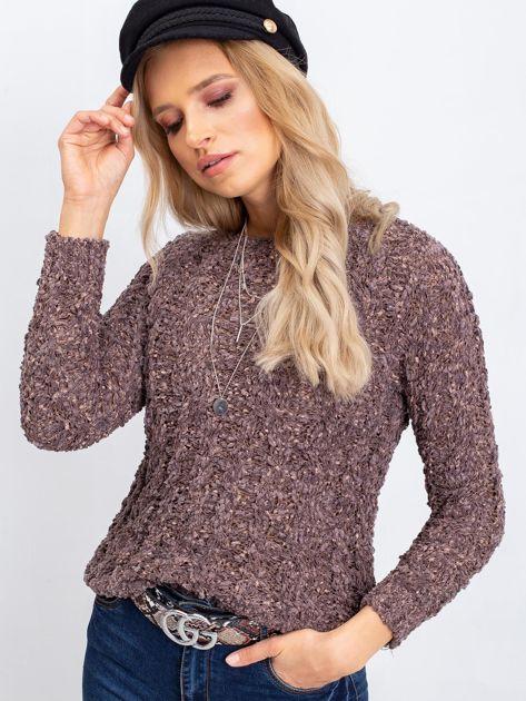 Brązowy sweter Andrea                              zdj.                              5