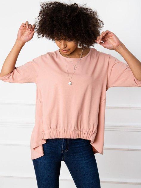 Brudnoróżowa bluzka Lily