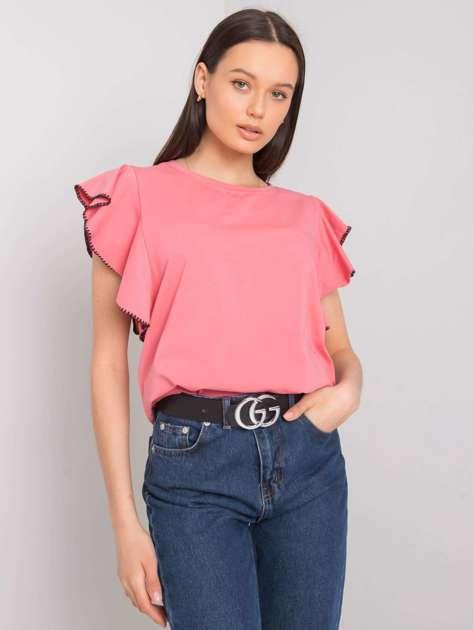 Brudnoróżowa bluzka Vanesia