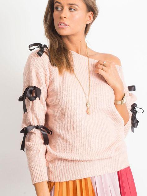 Brudnoróżowy sweter Hailee                              zdj.                              5