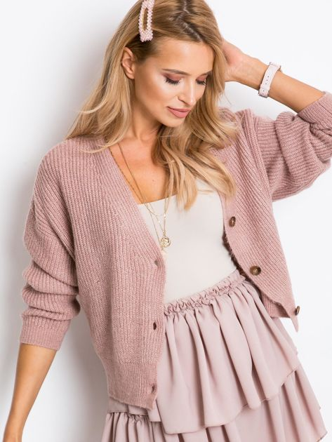 Brudnoróżowy sweter North                              zdj.                              1