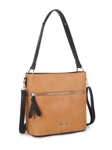 Camelowa torba z eko skóry LUIGISANTO
