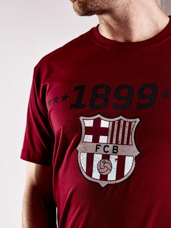 Ciemnoczerwony t-shirt męski FC BARCELONA                                   zdj.                                  8
