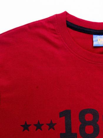 Ciemnoczerwony t-shirt męski FC BARCELONA                                   zdj.                                  12