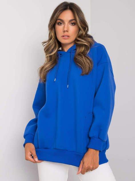Ciemnoniebieska bluza z kieszeniami Aryanna