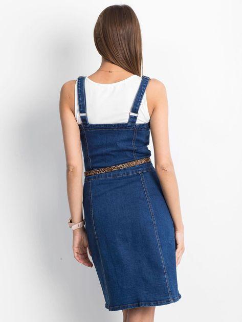 Ciemnoniebieska sukienka Maximise                              zdj.                              2