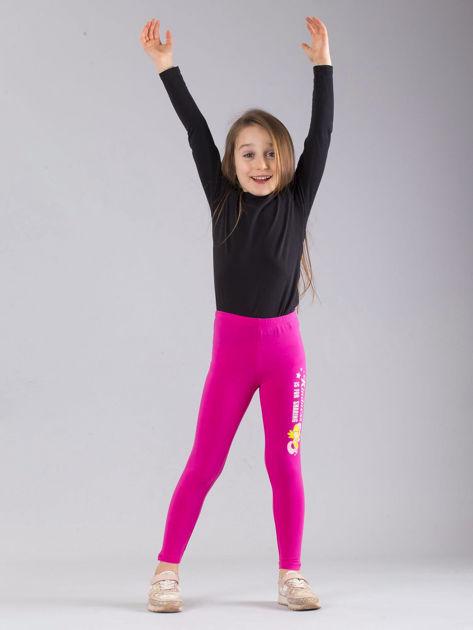 Ciemnoróżowe legginsy dziewczęce MY LITTLE PONY                              zdj.                              4