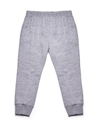 Ciemnoróżowy komplet dla dziewczynki bluza i spodnie                              zdj.                              6