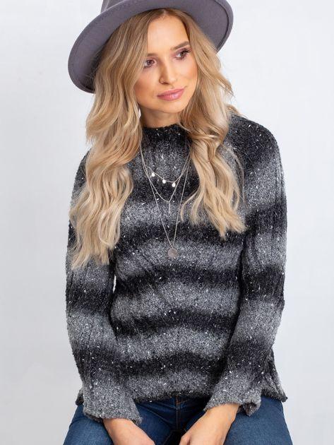 Ciemnoszary sweter Melanie                              zdj.                              1
