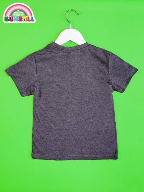 Ciemnoszary t-shirt chłopięcy GUMBALL                                  zdj.                                  2