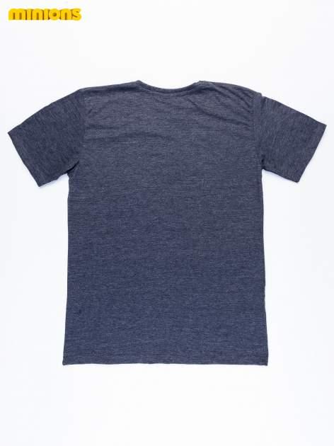 Ciemnoszary t-shirt męski MINIONKI                                  zdj.                                  11