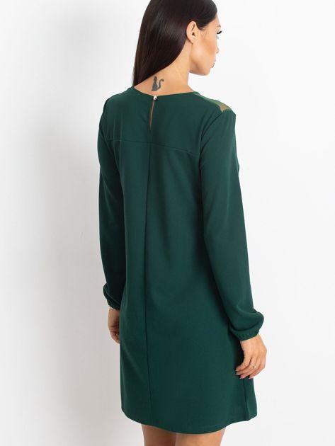 Ciemnozielona sukienka Bombay                              zdj.                              2
