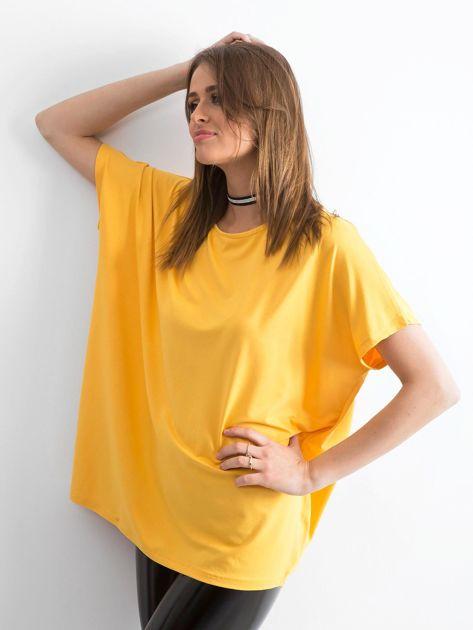 Ciemnożółta bluzka Oversize                              zdj.                              3