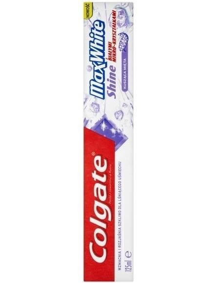 Colgate Pasta do zębów Max White Shine 125 ml                              zdj.                              1