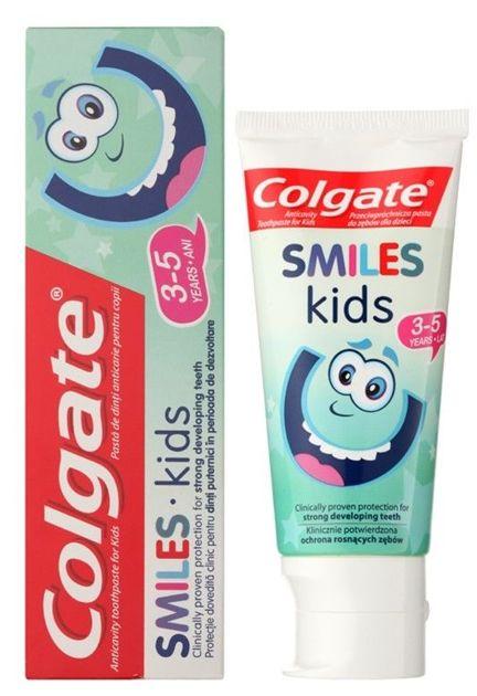 Colgate Pasta do zębów dla dzieci Smiles Kids (3-5 lat) 50 ml                              zdj.                              2