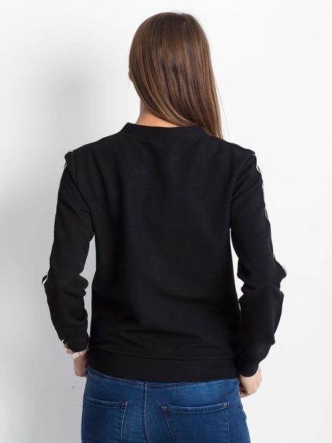 Czarna bluza Wirelessly                              zdj.                              2