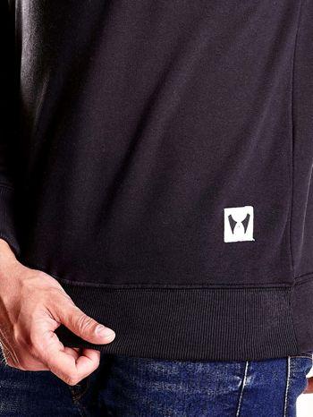 Czarna bluza męska z niedźwiedziem                                  zdj.                                  6