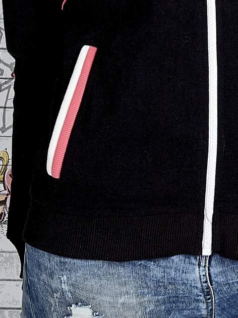 Czarna bluza z kolorowymi wstawkami                                  zdj.                                  7