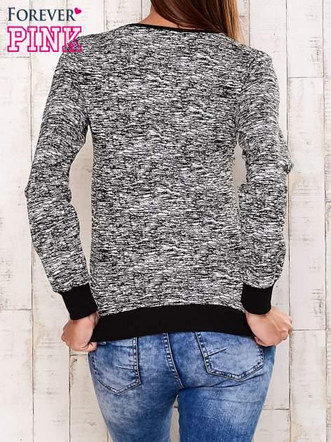 Czarna bluza z motywem sowy                                  zdj.                                  2