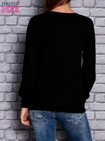 Czarna bluza z napisem BULLS                              zdj.                              2