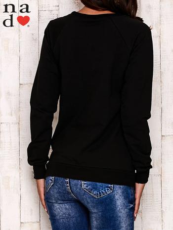 Czarna bluza z serduszkami                                  zdj.                                  4