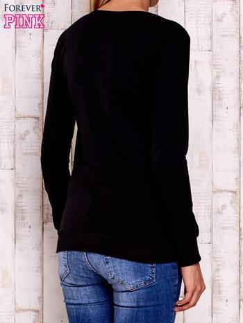 Czarna bluza z sową                                  zdj.                                  4