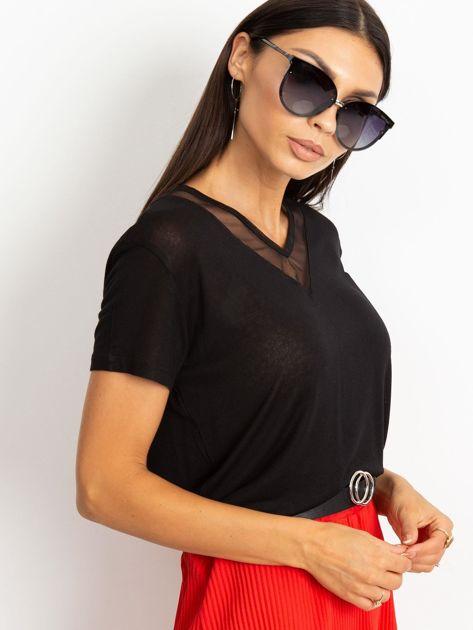 Czarna bluzka Delice                              zdj.                              3