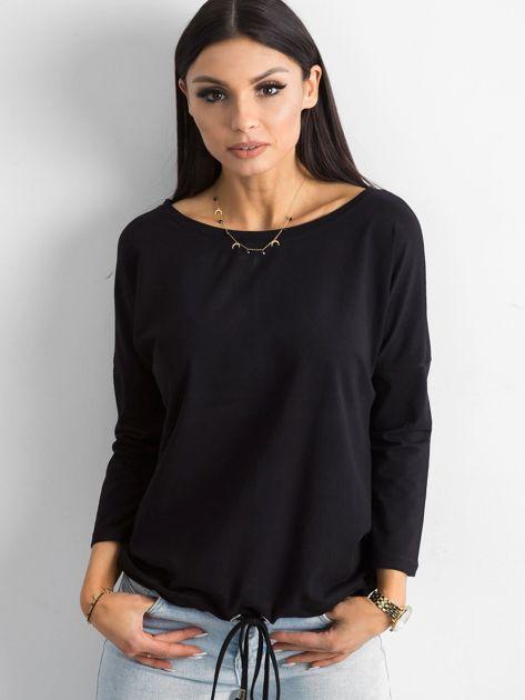 Czarna bluzka Fiona                              zdj.                              5