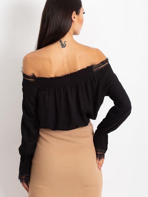 Czarna bluzka Remady                              zdj.                              2
