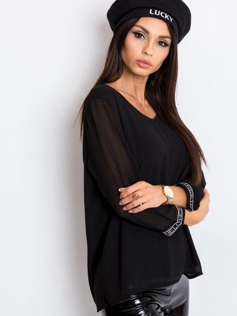 Czarna bluzka Tamara                              zdj.                              3