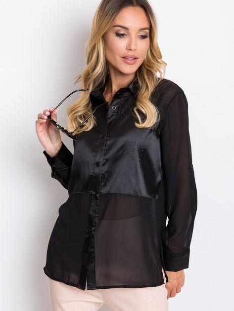 Czarna bluzka Velvet                              zdj.                              3