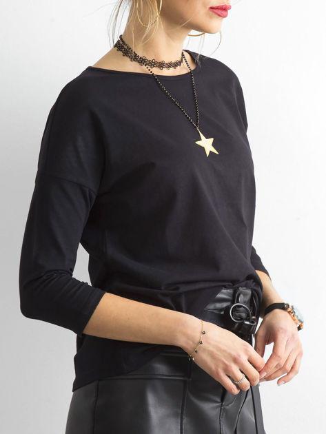 Czarna bluzka April                              zdj.                              3
