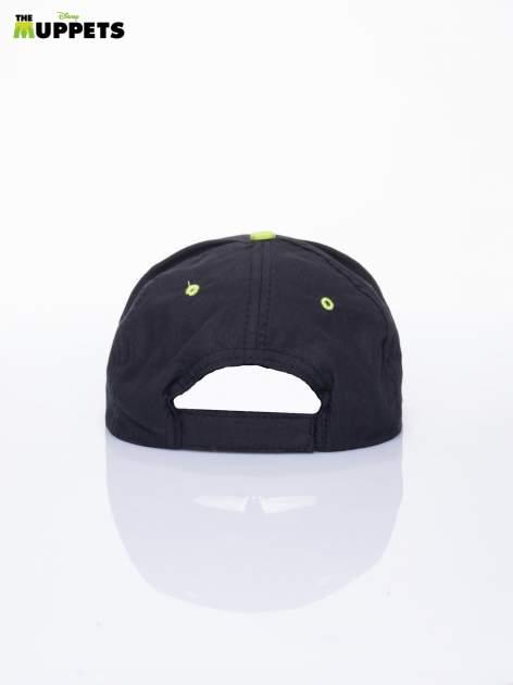 Czarna chłopięca czapka z daszkiem MUPPETY                                  zdj.                                  3