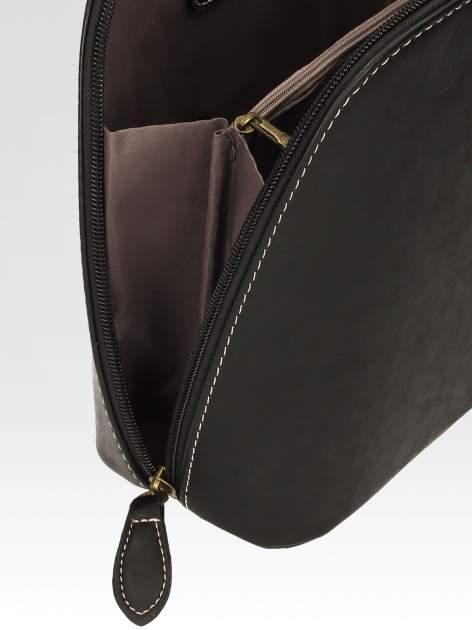 Czarna elegancka listonoszka z odpinanaym paskiem                                  zdj.                                  7