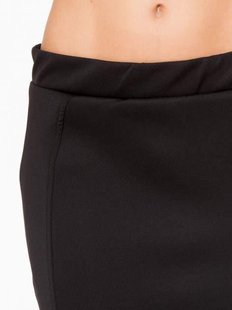 Czarna elegancka spódnica ołówkowa do kolan                                  zdj.                                  9