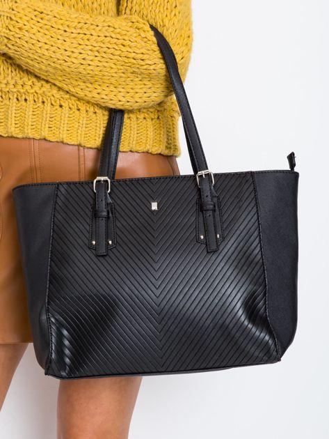 Czarna elegancka torebka damska                              zdj.                              1