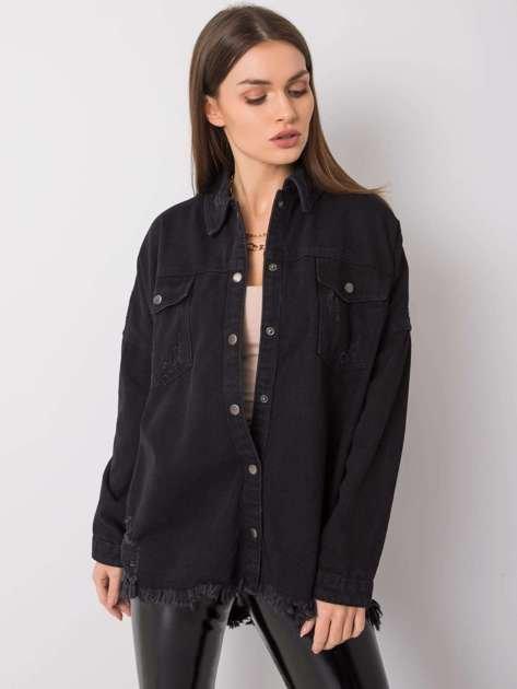 Czarna koszula jeansowa Willow