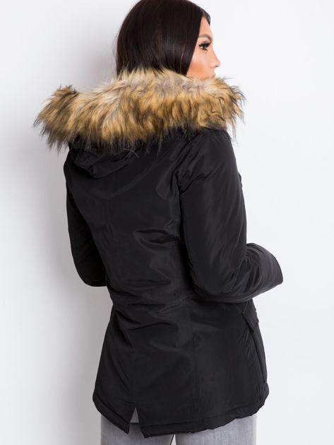 Czarna kurtka Winter                              zdj.                              2