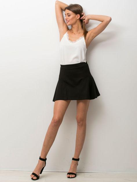 Czarna mini spódniczka skater                                  zdj.                                  1
