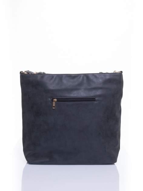 Czarna siateczkowa torba hobo                                  zdj.                                  2