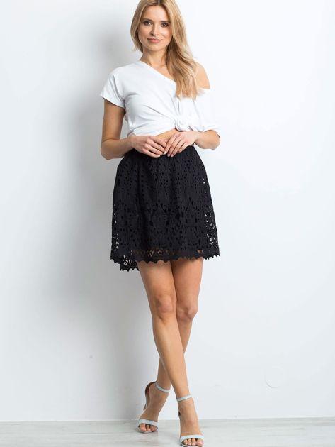 Czarna spódnica Princess                              zdj.                              4