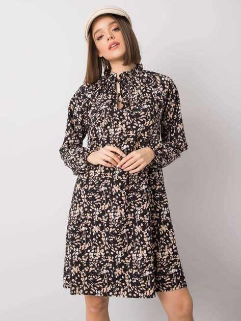 Czarna sukienka Aislinn RUE PARIS