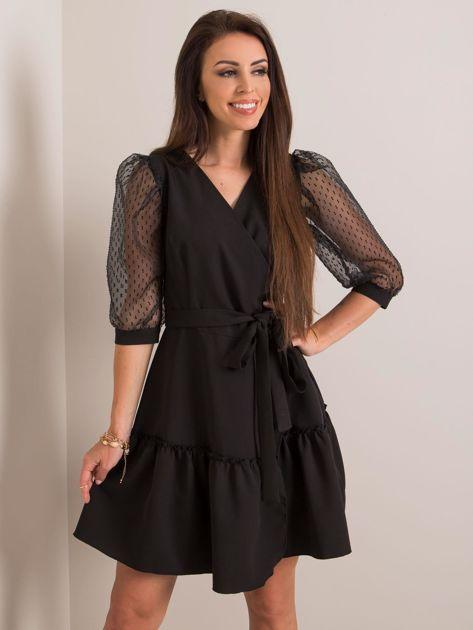 Czarna sukienka Ambition