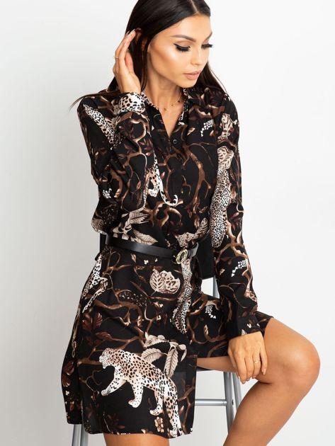 Czarna sukienka Beverly                              zdj.                              1