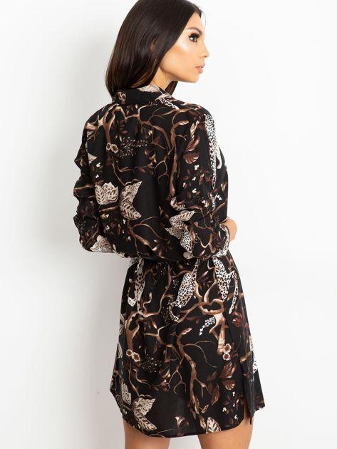 Czarna sukienka Beverly                              zdj.                              2