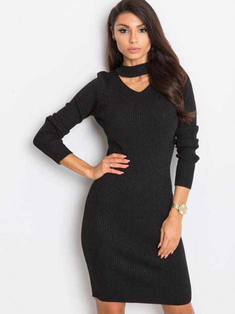 Czarna sukienka Blink                              zdj.                              1