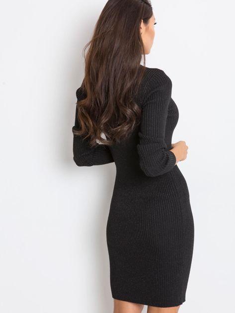 Czarna sukienka Blink                              zdj.                              2