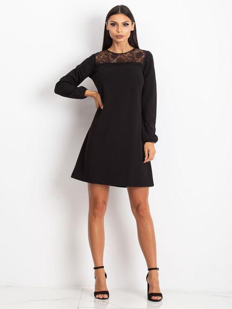 Czarna sukienka Bombay                              zdj.                              4