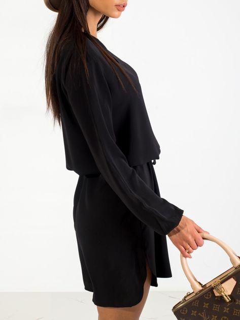 Czarna sukienka Castle                              zdj.                              5